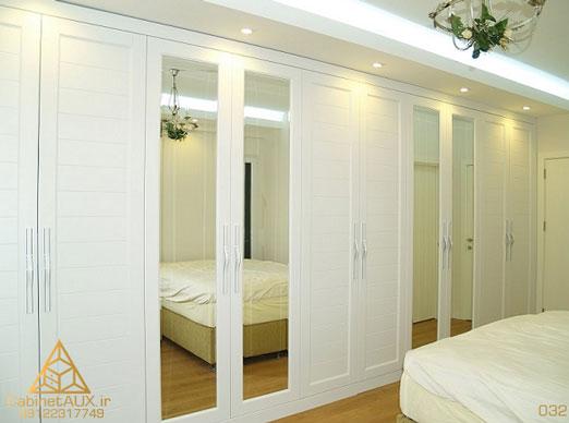 ساخت انواع کمد اتاق خواب