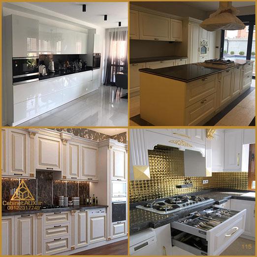 ساخت کابینت آشپزخانه