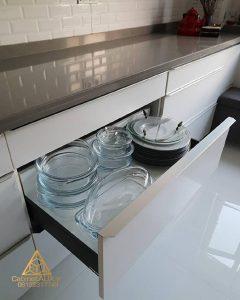 مزایای کشو در کابینت آشپزخانه