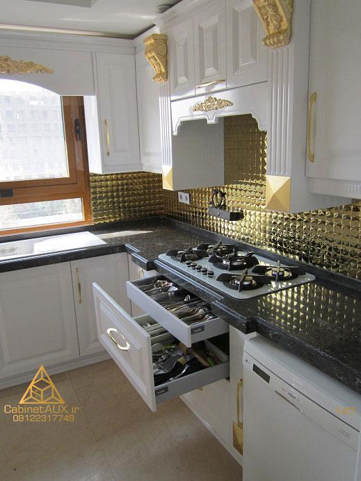 کابینت آشپزخانه کلاسیک ممبران